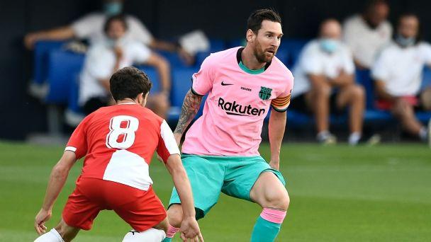 Asi Fue El Golazo De Messi En El Barcelona Vs Girona Video Heraldo Deportes